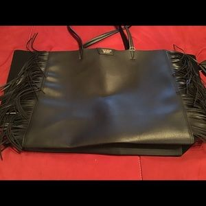 NWOT Victoria's Secret Large Leather tote bag